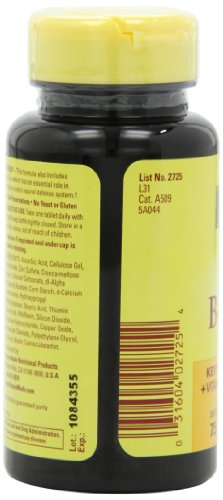031604027254 - Nature Made Stress B Complex with Zinc Tablets, 75 Count carousel main 6