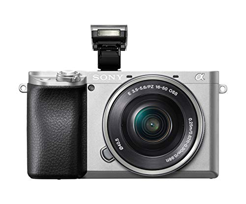 Sony Alpha 6100 E-Mount System Camera (24 Megapixels, 4K Video, 180° Touch Display, 0.02 Sec. Real Time Auto Focus with…