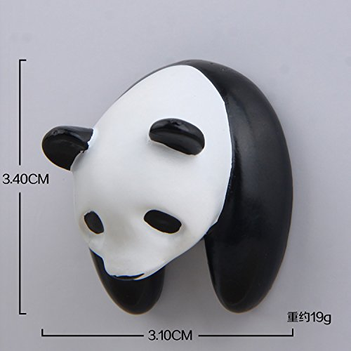 - Witmoving Refrigerator Magnets Panda Half-Handed Cartoon Stereo Magnetic Buckle Refrigerator Stickers Magnetic Stickers Magnet Stone Stickers Mobile Phone Shell Material - Panda Head 3pack
