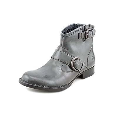 Women's Born, Raisa Ankle Boots CHARCOAL 12 M