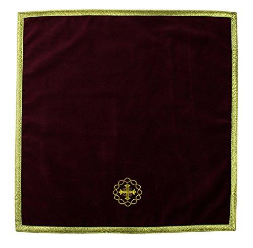 Vestment Fabrics - Red Chalice Veil V592-ACA (red)