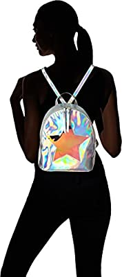T-Shirt & Jeans Back Pack with Irredescent Star