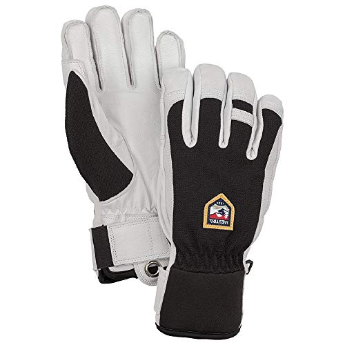 Hestra Ski Gloves: Army Leather Patrol Winter Cold Weather Glove