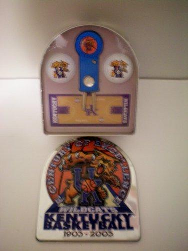 University of Kentucky UK Wildcats Kentucky Basketball 1903-2003 -- Century of Excellence -- Golf Tin Set -- Factory - Factory Set Tin