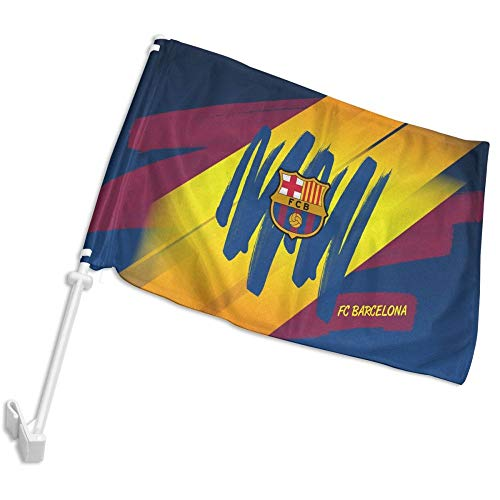 Barcelona Car Flag - DHDJHDJDL Barcelona Football Car Flag 12''x18''
