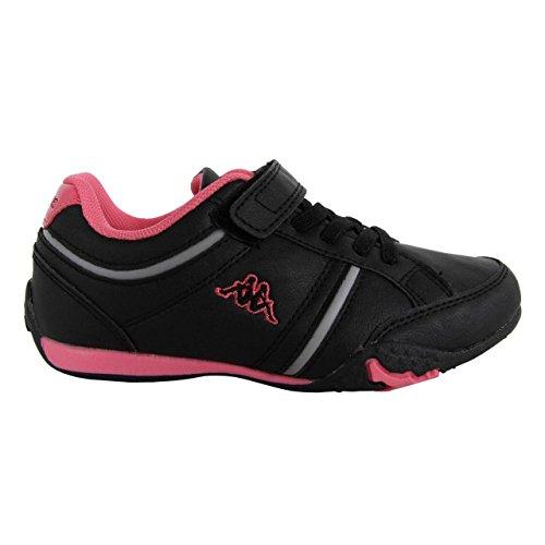 Chaussures de sport pour Garçon et Fille KAPPA 302EYH0 MEZZIO 956 BLACK-WARM PINK