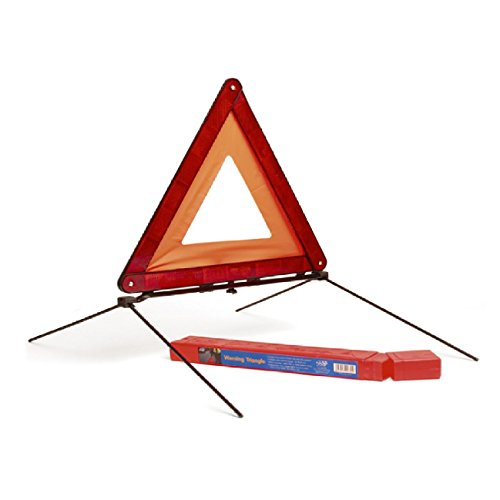 Warning Triangle Foldable Emergency Reflector Roadside Hazard Sign EU Triangle with Storage Case