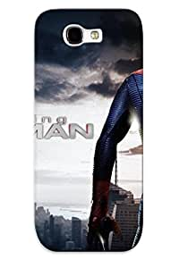 Top Quality Protection The Amazing Piderman 2012 Picture Case Cover For Galaxy Note 2 With Appearance/best Gifts For Christmas Day