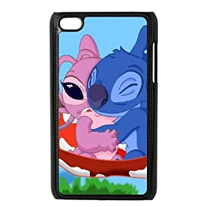 iPod Touch 4 Case Black Disneys-Lilo-and-Stitch Hard Phone Case Cover Protective XPDSUNTR31966