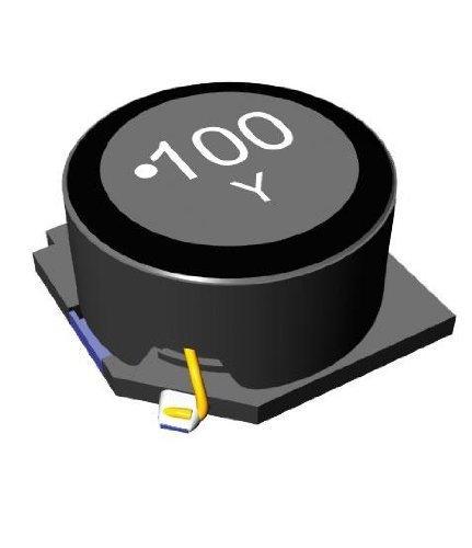 5 pieces Fixed Inductors INDCTR SMD HI CUR 100uH 20/%