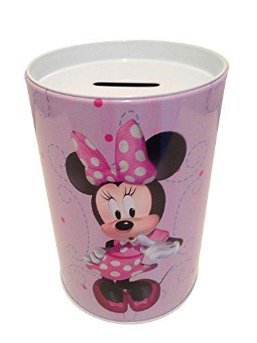 Money The tin box company Minnie on Purple Kids Coin Bank Disney