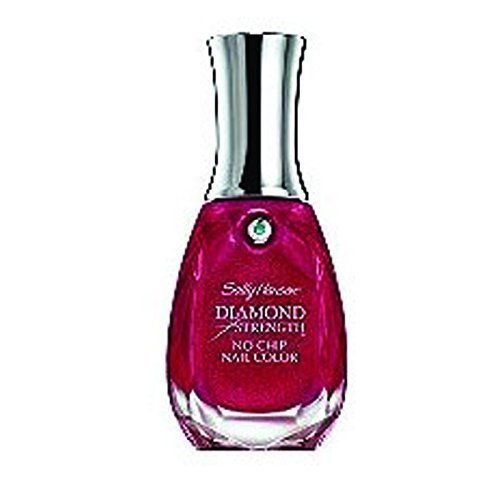 (Sally Hansen Diamond Strength No Chip Nail Color 370 Red Velvet by Sally Hansen)