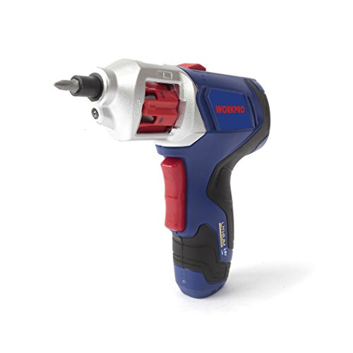 WORKPRO Cordless Rechargeable Power Screwdriver Lithium-ion 3.6V with Quick Change Bits by WORKPRO (Image #5)