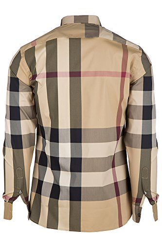 Burberry chemise à manches longues homme thornaby beige EU XXL (UK 44) 4045831
