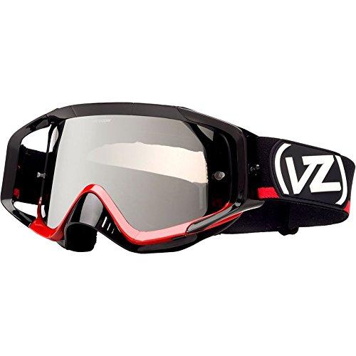 VonZipper Porkchop MX Goggles - One size fits most/Black Red/Chrome