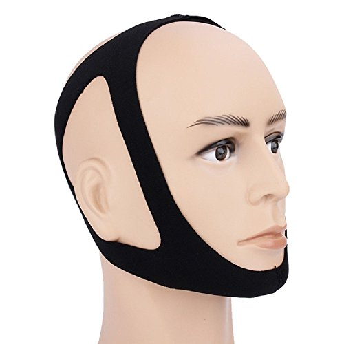 SnoreeZ™ Anti Snoring Chin Strap – Snore Stopper Guard - Instant Snoring Relief - Best Sleep Aid Device - Stop Snoring Tonight!