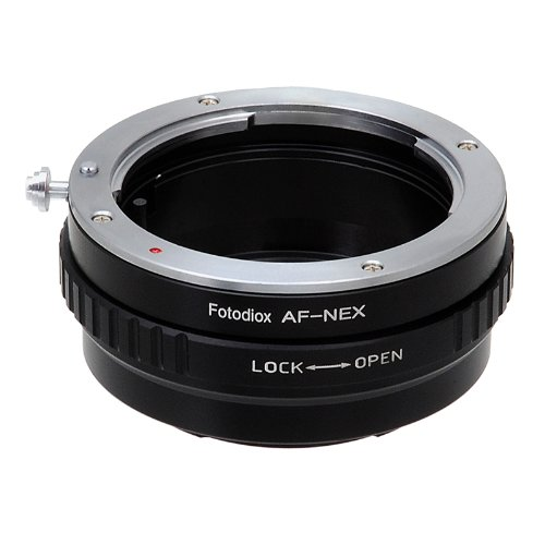 Fotodiox Lens Mount Adapter Compatible with Sony A-Mount and Minolta AF Lenses to Sony E-Mount Cameras (Sony A Mount To E Mount Adapter)