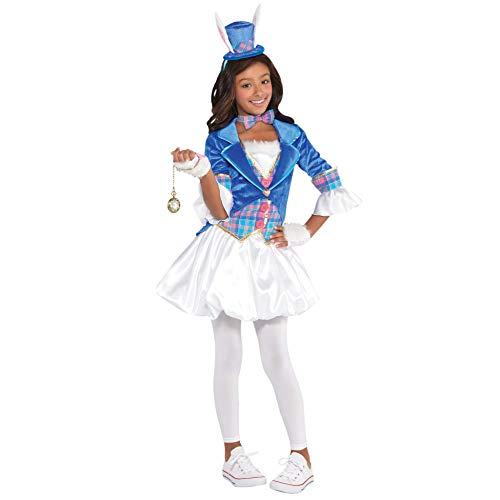 Girls Down The Rabbit Hole Costume - Medium (8-10)