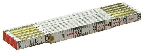 (Stabila 80010 Folding Ruler - Modular Scale)