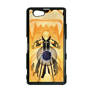 Jump Comics Hokage Naruto Phone Case for Sony Xperia Z1 Compact Creative Customized Phone Case Naruto Case