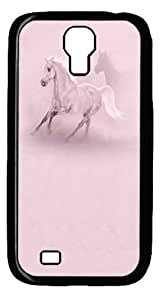 Cool Painting Samsung Galaxy I9500 Case and Cover -The Fastest Horse Polycarbonate Hard Case Back Cover for Samsung Galaxy S4/I9500