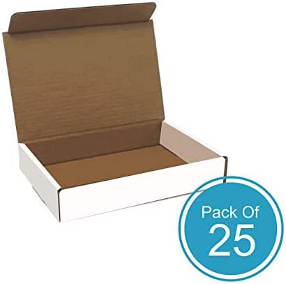 HTTP White Cardboard Shipping Boxes (Renewed)
