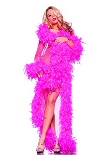 [Adult Women's Sexy Feather Sheer Robe Halloween Party Costume] (Disguise Costumes For Turkey)