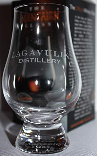 LAGAVULIN DISTILLERY LOGO GLENCAIRN SINGLE MALT SCOTCH WHISKY TASTING GLASS - Lagavulin Single Malt