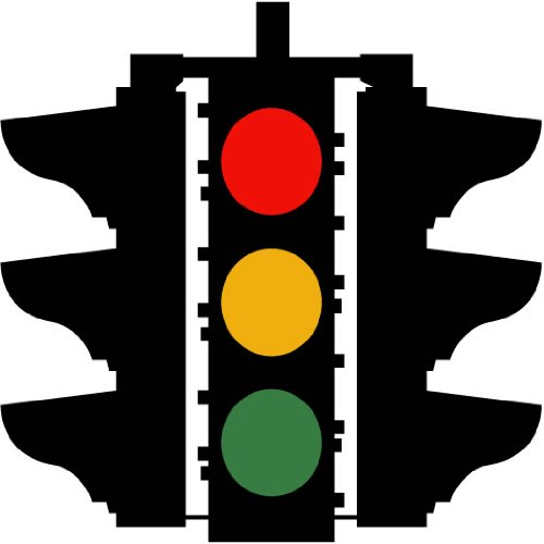 Street Signs u0026 More - Traffic Light Symbol Sign 12  Wall Decals - Prints - Amazon.com  sc 1 st  Amazon.com & Street Signs u0026 More - Traffic Light Symbol Sign 12