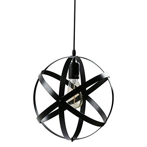 Black Sphere Pendant Light in Florida - 4