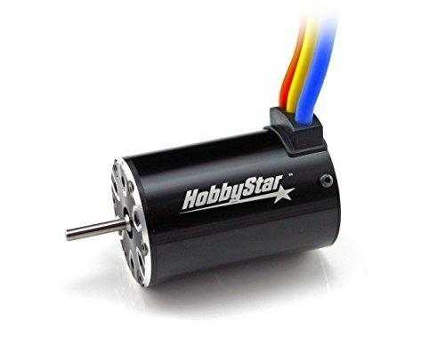 HobbyStar 550 Brushless Sensorless Motor, 4-Pole, 3800KV For