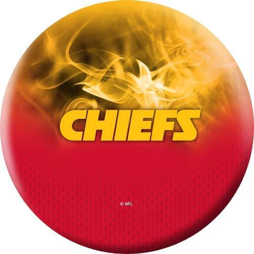 NFL-Kansas-City-Chiefs-On-Fire-Undrilled-Bowling-Ball