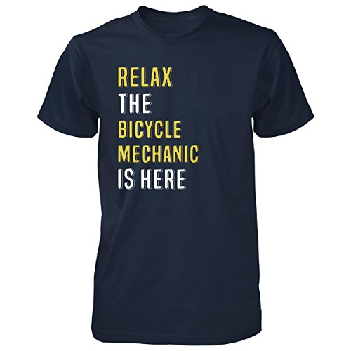 Relax The Bicycle Mechanic Is Here. Funny Gift - Unisex Tshirt