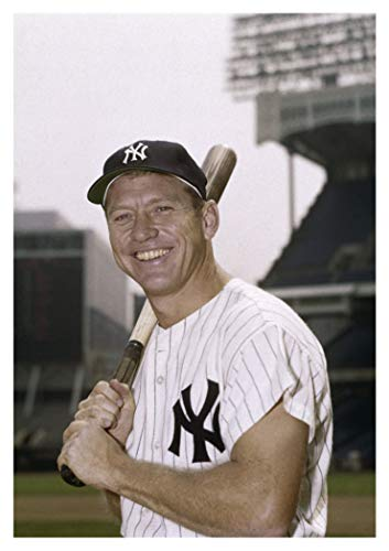 Mickey Mantle Publicity Photo, New York Yankees, Baseball, Home Run Hitter, Souvenir, Locker Magnet 2 x 3 Fridge Magnet