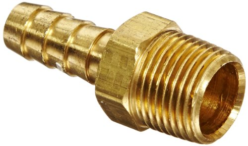 Anderson Metals 57001 Brass Hose Fitting, Adapter, 3/8