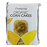 Clearspring Organic Corncakes 130g (Pack of 12)