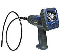 WHISTLER WIRELESS INSPECTION CAMERA With DETACHABLE LCD MONITOR, BUILT-IN DVR