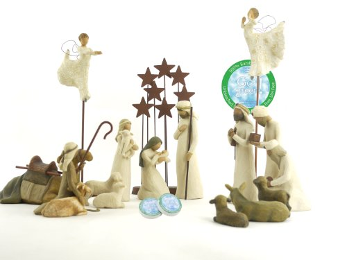 Willow Tree 16 Piece Nativity Set by Willow Tree
