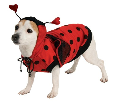 (Rubie's Lady Bug Pet Costume,)