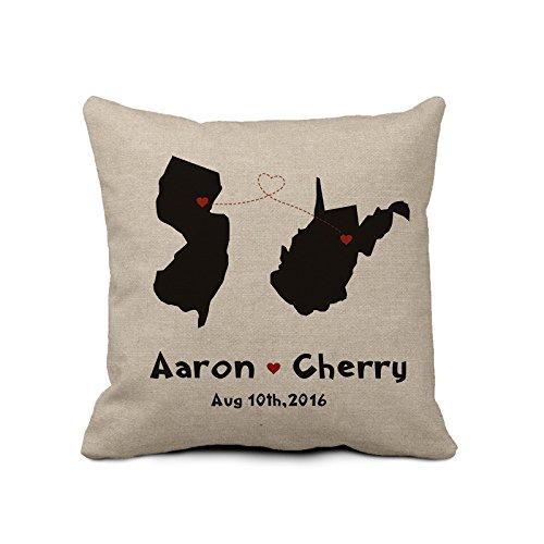 Personalizado antiguo funda de almohada decorativa almohada ...