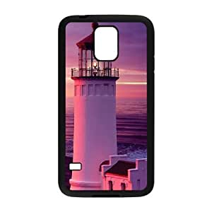 SamSung Galaxy S5 cell phone cases Black Lighthouse fashion phone cases TRD4560919