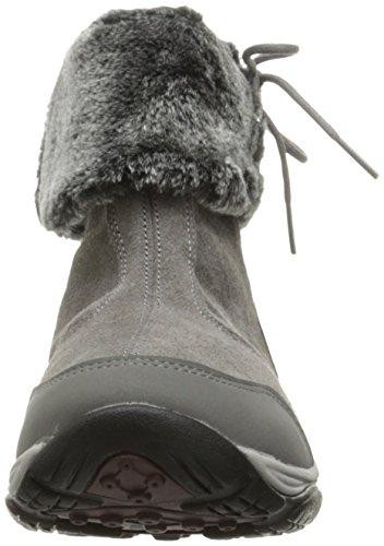 Chaussure Bottine Elementa Femme Facile Esprit Gris Moyen / Multi Daim