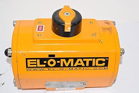 El-O-Matic ED0065 U1A00A 14K0 Pneumatic Actuator 116 PSI PS Max:8