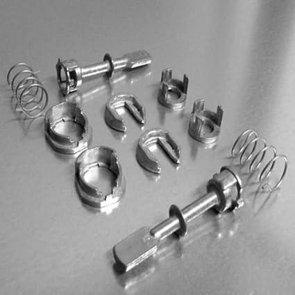 2 x SET de 10 piezas – Cerradura cilíndrica de puerta excéntrico ...