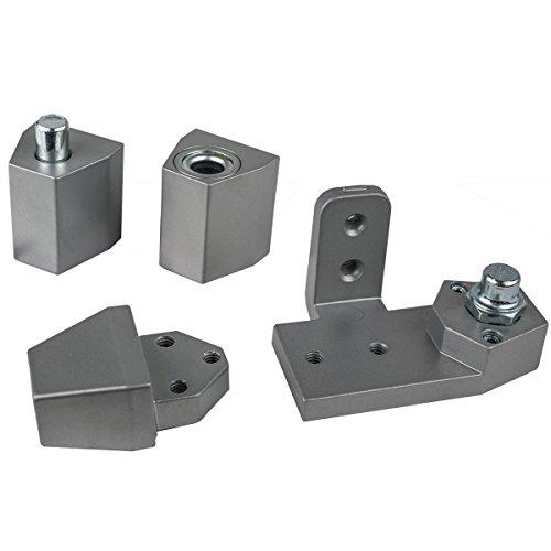 Global Door Controls Aluminum Arch/Vistawall Style Left Hand Offset Pivot ()