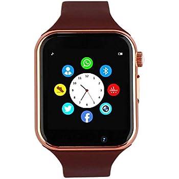 Amazon.com: Reloj inteligente Wzpiss con pantalla táctil y ...
