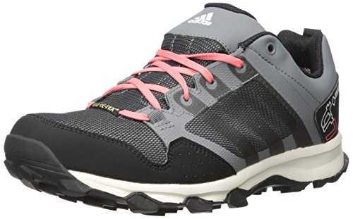 Adidas Outdoor Womens Kanadia 7 Gore-tex Scarpa Da Trail Running Vista Grigio / Nero / Super Blush