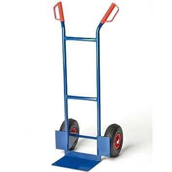 Sackkarre Stapelkarre pro-bau-tec m Treppenrutsche Luftbereifung 200kg