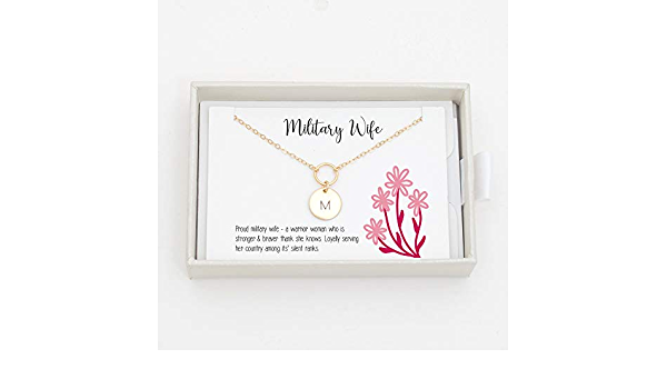 Clip-on Lariat Drop Honoring Military and Military Moms With Personalized Word Charms