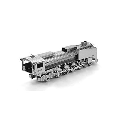 Metal Earth Fascinations Steam Locomotive 3D Metal Model Kit: Toys & Games